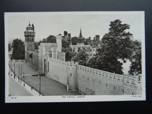 Wales CARDIFF The Castle - Old RP Postcard by Raphael Tuck CDF30