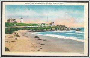 Massachusetts, Cape Cod - Nobska Light & Beach Woods Hole - [MA-610]