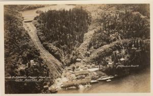 RP, LAKE BUNTZEN, British Columbia, 1910s ; B.C. Electric Power Plant