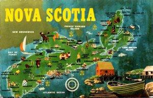 Canada Map Of Nova Scotia