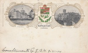 KINGSTON, Ontario , Canada , PU-1904 ; Court House and Queen's University