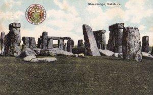 SALISBURY, Wiltshire, England, 1900-1910s; Stonehenge