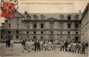 CPA SOISSONS Regiment d'infantierie (191358)