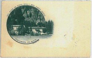 35912  CARTOLINA d'Epoca SONDRIO - Masino  1907 : BELLA!