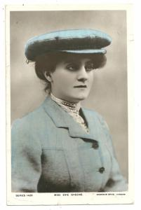 Eve Greene, Malvern, London, !908- RPPC
