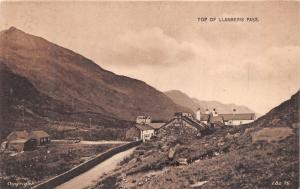 LLANBERIS PASS SNOWDONIA WALES~VILLAGE~LILYWHITE  LBS.75 PUBL PHOTO POSTCARD