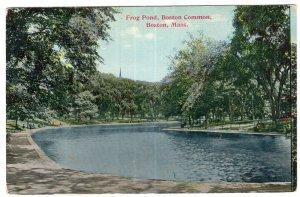 Boston, Mass, Frog Pond, Boston Common