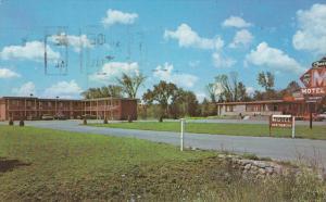 Greetings from CREST MOTEL, Peterborough, Ontario, Canada, PU-1987