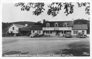 Renfro Valley Kentucky~RPPC Settlement Lodge c1939