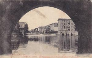 Castres , Tarn , France , PU-1915 ; Les Maisons dans l'eau et la Chaussee