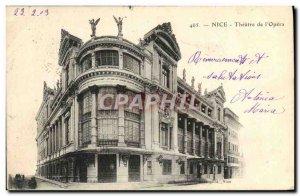 Postcard Ancient Theater of Nice & # 39Opera