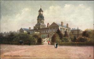 TUCK Oilette - Aldershot UK Cambridge Hospital c1910 Postcard