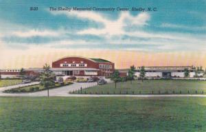 North Carolina Shelby Memorial Community Center