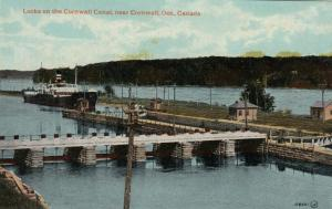 CORNWALL , Ontario , Canada , 1900-10s ; Locks , Cornwall Canal