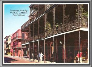 Louisiana, New Orleans Greetings From Vieux Carre - [LA-020X]