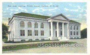 East Duke Building, Trinity College in Durham, North Carolina