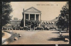 Mint Usa Real Picture Postcard RPPC Beverly Hospital Beverly MA
