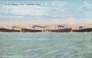 P.M. Carferry Fleet , LUDINGTON , Michigan , 00-10s