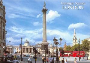 Postcard LONDON Trafalgar Square by J. Salmon Ltd #2420241