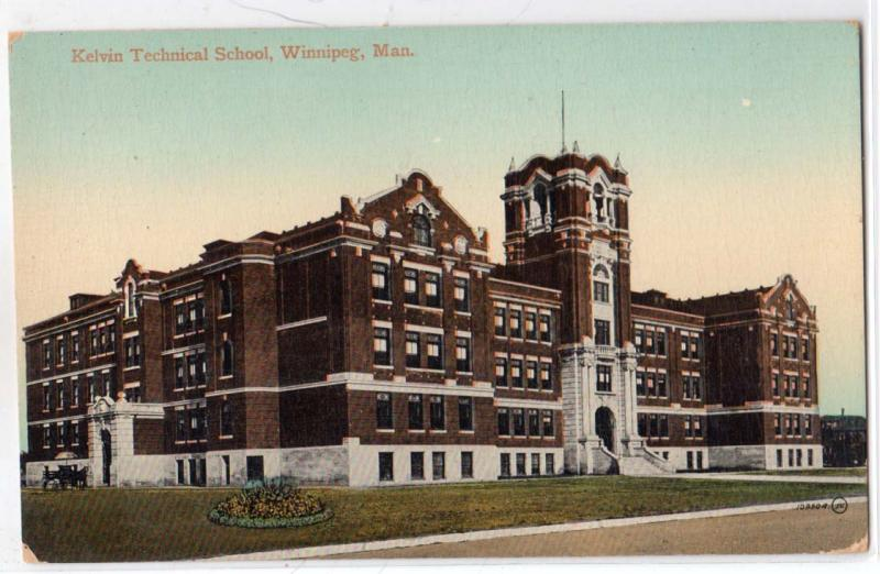 Kelvin Technical School, Winnipeg, Man