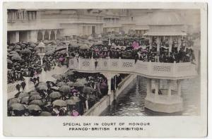Special Day In Court Of Honour, Franco British Exhibition 1908 PPC, By Alexander