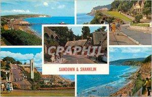 Postcard Modern Sandown Shanklin