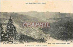 Old Postcard The Blue Line of Vosges La Schlucht Vallee de Munster