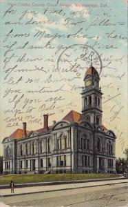 Delaware Wilmington New Castle County Court House Wilmington 1909