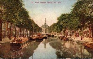 Netherlands The Hague Turf Market