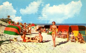 Florida - A Life of Ease on Florida's Colorful Beaches - c1960