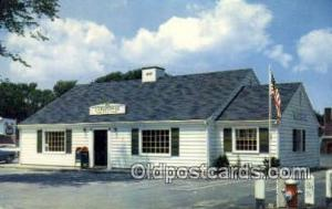 Picturesque Post Office Dennisport Mass USA Postoffice Old Vintage Post Card ...