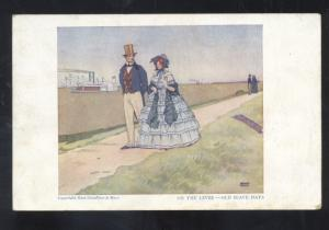EL RENO OKLAHOMA MARKS HIGGINS CO. CLOTHING ADVERTISING STORE OLD POSTCARD