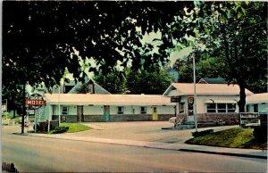 Vintage Postcard Dixie Motel Corbin Kentucky Ridner Old Cars Autos Unposted 1210