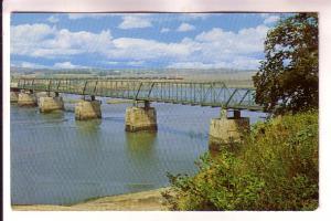 Bridge and Causeway Spanning Avon River, Windsor, Nova Scotia, Book Room
