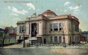 Public Library - Ottumwa, Iowa IA