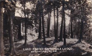 RP: Lake Front at Danola Lodge, NORTHOME, Minnesota, PU-1940