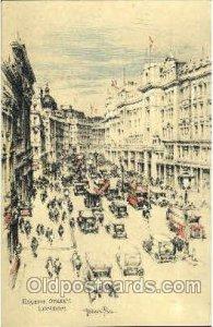Regent Street, London, Artist Joseph Pike, Unused