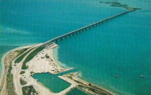Florida Miami Beach One Of The Most Famous Bridges Linking The Moinland To Ke...