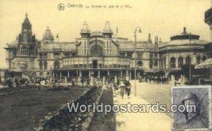 Le Kursaal du cote de la Ville Ostende, Belgium Postal Used Unknown, stamp on...