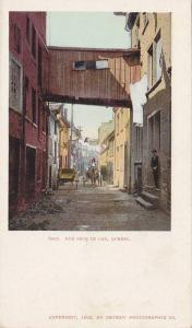 Rue Sous le Cap , Quebec , Canada , 1902