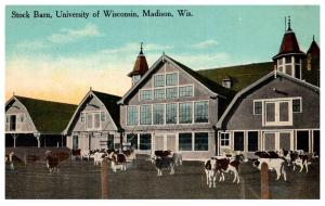 Wisconsin Madison , Univ. of WI , Stock barn
