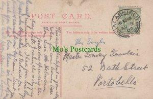 Genealogy Postcard - Goodsir? - 52 Bath Street, Portobello   RF6957