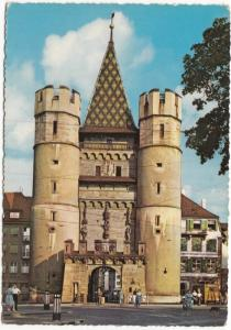 Switzerland, BASEL, Spalentor, used Postcard