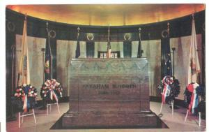 Abraham Lincoln Cenotaph, Illinois, unused Postcard