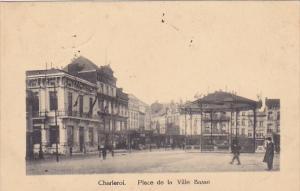 Belgium Charleroi Place de la Ville Basse 1921