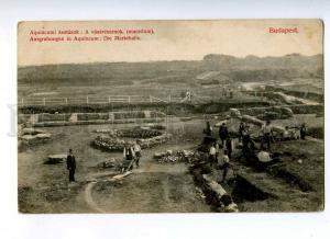 191133 HUNGARY BUDAPEST Excavations at Aquincum Market Hall