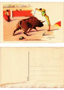 CPA Bullfighting - Buen Par de Banderillas (776465)