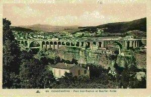 Algeria Constantine Bridge Sidi Rached Quartier Arabe Postcard