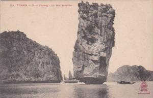 Vietnam Tonkin Bale d'Along La tour penchee Indo-China