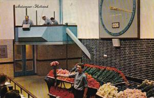 Netherlands Aalsmeer Auction Clock Flower Vendor